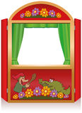 Punch And Judy Booth Stock Photo