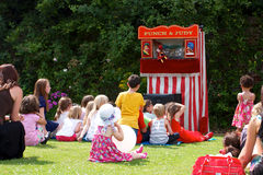 Punch and Judy Performance Stock Photos