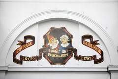 Punch and Judy pub, The Market, Covent Garden Piazza, London, England Stock Photos