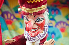 Punch and judy, punch puppet Royalty Free Stock Images