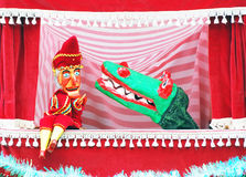 Punch and Judy show Royalty Free Stock Photo