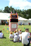 Punch and Judy show. Stock Image