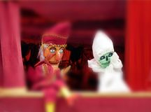 Punch and Judy show Royalty Free Stock Photos