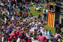 Punch and Judy Show. Stock Photography