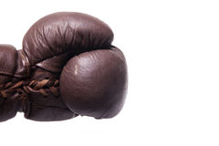 Punch with left fist Royalty Free Stock Images