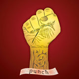 Punch Royalty Free Stock Photography