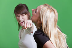 Punch to the face Royalty Free Stock Photo