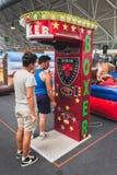 Punchball na pokazie przy Kołysać Parkowego wydarzenie w Mediolan, Włochy Obraz Royalty Free