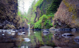 Punchbowl baja Rastro-cabeza de Eagle Creek fotos de archivo libres de regalías