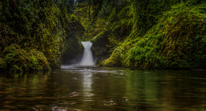 Punchbowl Falls, Columbia Gorge Royalty Free Stock Photos