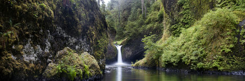 Punchbowl falls, Columbia River Gorge royalty free stock images