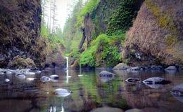 Punchbowl Falls Eagle Creek Trail-head Royalty Free Stock Photos