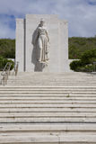 Punchbowl National Cemetery Monument. The monument at Punchbowl National Cemetery on Oahu, Hawaii Stock Photo