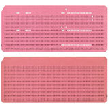 Punched card Stock Images