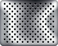 Punched metal Royalty Free Stock Photos