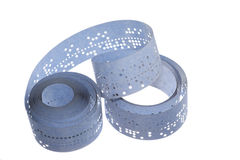 Punched tape Royalty Free Stock Photography