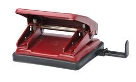 Puncher de agujero de papel de la oficina Fotografía de archivo