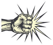 punching πυγμών Στοκ εικόνες με δικαίωμα ελεύθερης χρήσης