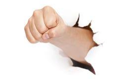 punching πυγμών στοκ φωτογραφία με δικαίωμα ελεύθερης χρήσης