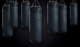 Punching τσάντα Στοκ Φωτογραφίες
