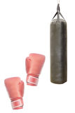 Punching bag Royalty Free Stock Photos