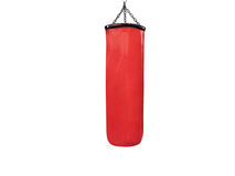 Punching bag Royalty Free Stock Images