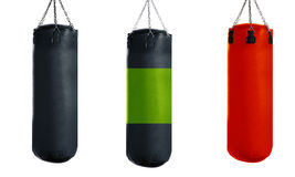 Punching bag Stock Images