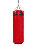 Punching Bag Isolated. On white background. 3D render Royalty Free Stock Photography