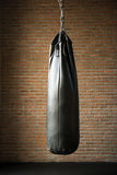 Punching bags in boxing room Royalty Free Stock Photos
