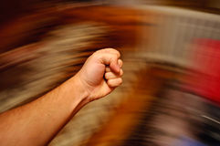Punching Fist Royalty Free Stock Image