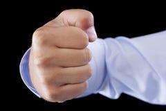 Punching Fist - Stock Image Stock Photos