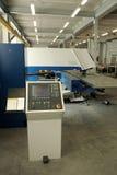 Punching machine and work conveyor. Punching machine and working conveyor, used for power plants and energy producing stock image