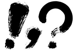 Punctuation Stock Images