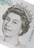 pund för fem anmärkning Royaltyfri Bild