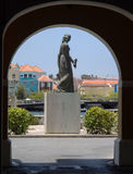 Punda. Views around Punda old City  Willemstad Curacao Caribbean Stock Image
