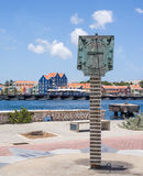 Punda waterfront. Views around Punda old City  Willemstad Curacao Caribbean Royalty Free Stock Images