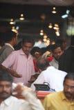 Pune, India - October 21, 2015: Festive Flower Market Stock Photos