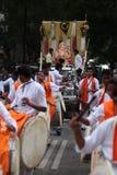 Pune, India - 17 settembre 2015: Bei della processione di festival di Ganesh Immagine Stock Libera da Diritti
