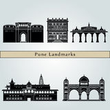 Pune landmarks and monuments Stock Photo