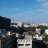 Pune miasto obraz stock