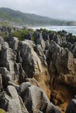 Punekaiki Rock Formation Royalty Free Stock Photography