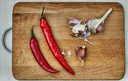 Peppers vegetable, fresh, chili, cooking royalty free illustration