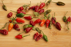 Pungent small pepper Stock Photo