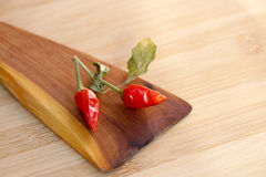 Pungent small pepper Stock Photos