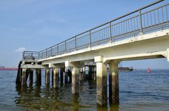 Punggol jetty Stock Photography