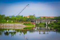 Punggol landskap Royaltyfria Bilder