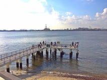 Punggol punktu jetty, Singapur Zdjęcie Stock
