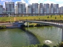 Punggol waterway, Singapore Stock Photography