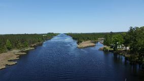 Pungo River Royalty Free Stock Photo
