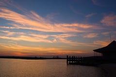 Pungo Sunset Royalty Free Stock Image